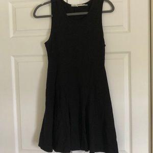 Black skater skirt dress size med